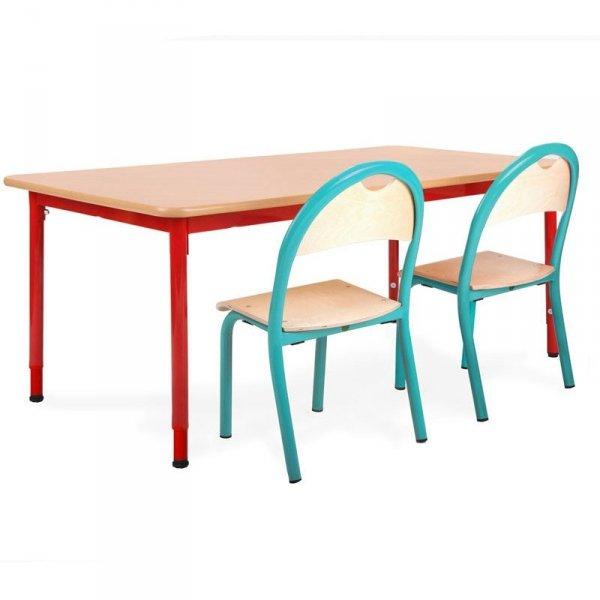 stolik przedszkolny bambino,stolik prostokątny bambino,stolik do przedszkola bambino