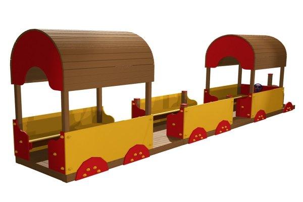pociąg na plac zabaw, lokomotywa na plac zabaw, lokomotywa drewniana, lokomotywa plac zabaw, domek na plac zabaw, domek do ogrodu, domki ogrodowe, domki dla dzieci, lokomotywa z wagonem, ciuchcia