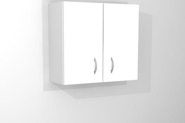 Szafka wisząca 2-drzwiowa do gabinetu lekarskiego