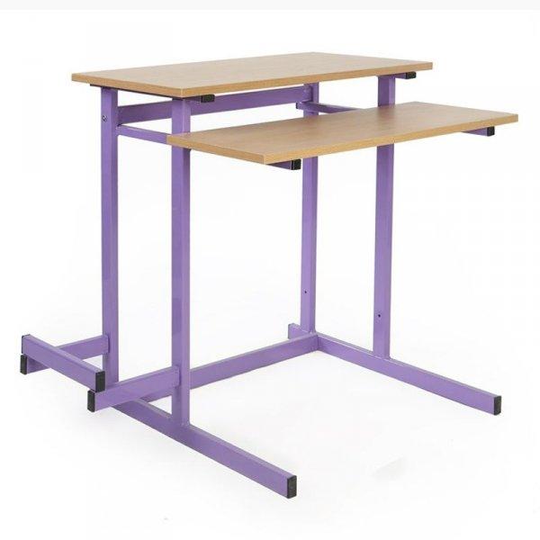 biurko komputerowe 1-osobowe, biurko do pracowni komputerowej, biurko komputerowe robert, biurko komputerowe, stolik komputerowy tytus, stół komputerowy tytus, stoły komputerowe tytus