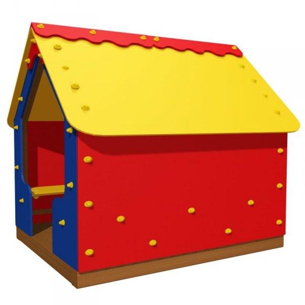 plac zabaw domek, domek dla dzieci, domek na plac zabaw, domek z drewna, domek drewniany, domek drewniany kolorowy, domek dla dziecka