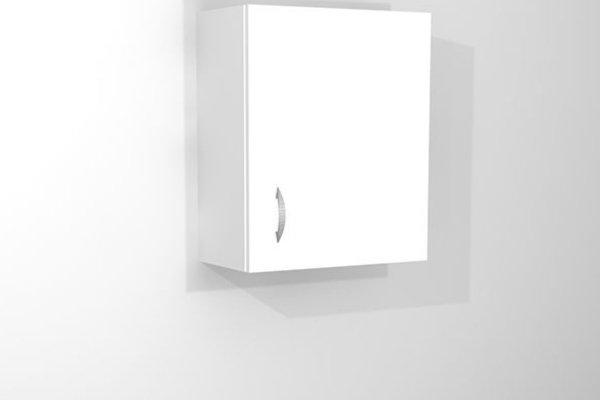 szafka wisząca 1-drzwiowa do gabinetu lekarskiego