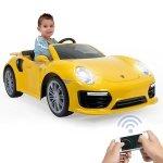 INJUSA Samochód elektryczny dla dzieci  Porsche 6V + aplikacja