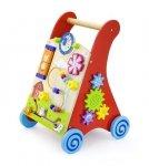 Viga 50950 Edukacyjny chodzik dla dzieci red
