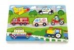 Viga 51274 Puzzle z dźwiękiem - pojazdy