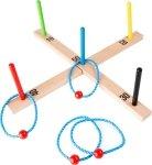 SMALL FOOT Rzucanie Pierścieniami - Rzutki dla dzieci