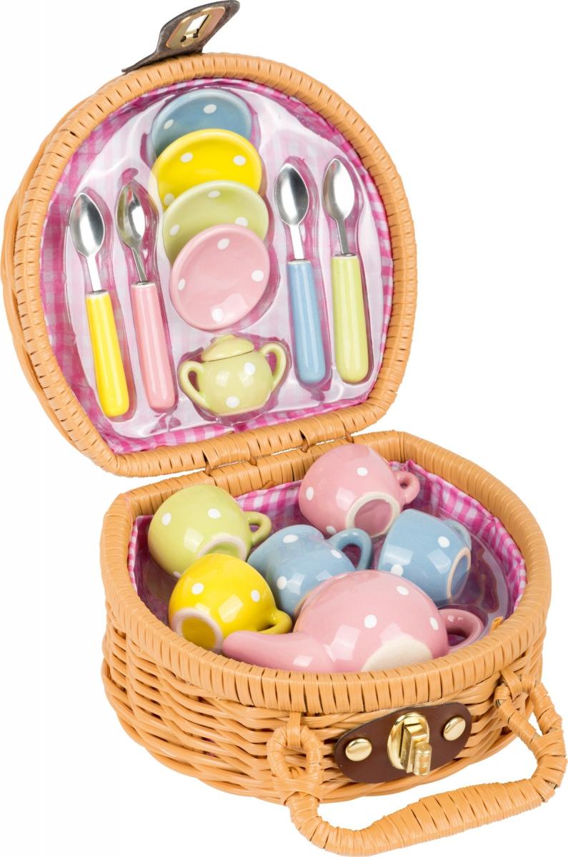 Small Foot Mini Kosz Piknikowy Z Herbatka Zabawka Dla Dziecka