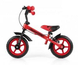 Milly Mally Rowerek biegowy Dragon z hamulcem red (0159)
