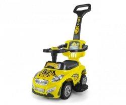Milly Mally Jeździk 3w1 Pojazd Happy Yellow (0261, Milly Mally)
