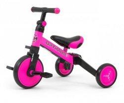 Milly Mally Rowerek 3w1 Optimus Pink