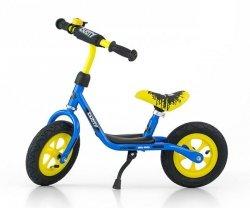 Rowerek Biegowy Dusty 10 Blue-Yellow (51134, Milly Mally)