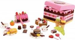 SMALL FOOT Słodycze Zabawki - drewniana zabawka dla dzieci