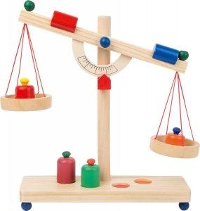 SMALL FOOT Drewniana Waga Szalkowa - zabawka dla dziecka