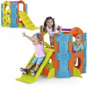 Feber Plac Zabaw Dla Dzieci Zjeżdżalnia Ścianka Wspinaczkowa Activity Park