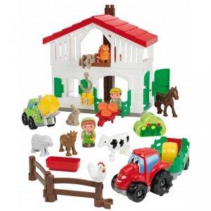 Ecoiffier Abrick Farma - zestaw z akcesoriami