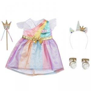 Baby Born Deluxe Ubranko Fantastyczna Księżniczka dla Lalki 43 cm