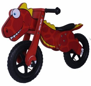 Rowerek Biegowy Dino Red