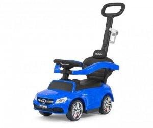Pojazd z rączką MERCEDES-AMG C63 Coupe Blue