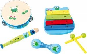 SMALL FOOT Music Set Frog - Muzyczny Zestaw (żabka)