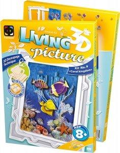 SMALL FOOT 3D Picture Frame Fishes - Ramka Rękodzieło 3D (rybki)