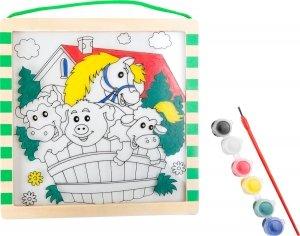 SMALL FOOT Farm Colouring Picture - obrazek do kolorowania (Farma)