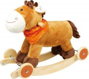 SMALL FOOT Rocking Horse Nele - konik na biegunach z kółkami