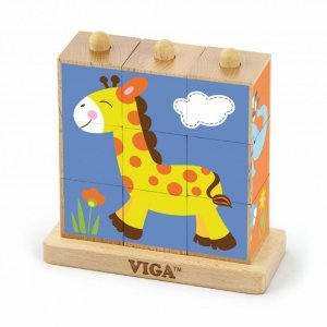 Viga 50834 Kostki logiczne - zoo