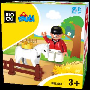 Klocki Blocki Mubi Zestaw Uzupełniający Jeździec