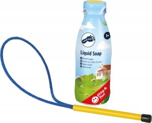 SMALL FOOT Large Soap Bubbles with Liquid Soap - zestaw do produkcji baniek mydlanych