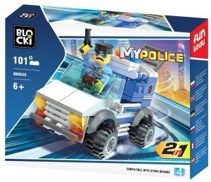 Klocki Blocki MyPolice 2 W 1 101 el.