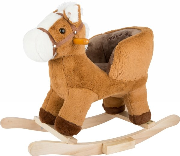 SMALL FOOT Rocking Horse with Seat - konik na biegunach z siodełkiem
