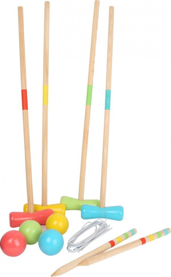 """SMALL FOOT Croquet """"Active"""" - gra w krykieta dla dzieci"""