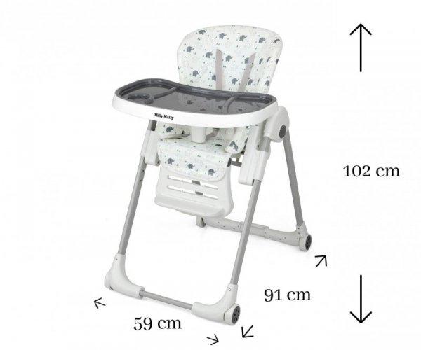 Krzesełko do karmienia MILANO Jumbo