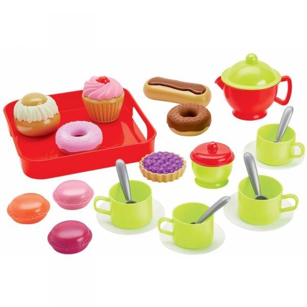 Zestaw do herbatki naczynia 26 el Ecoiffier