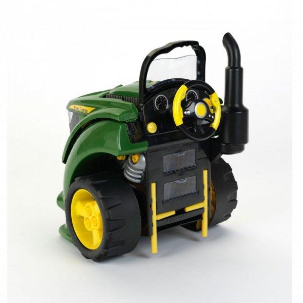 Klein Traktor John Deere z silnikiem do skręcania 57 elementów