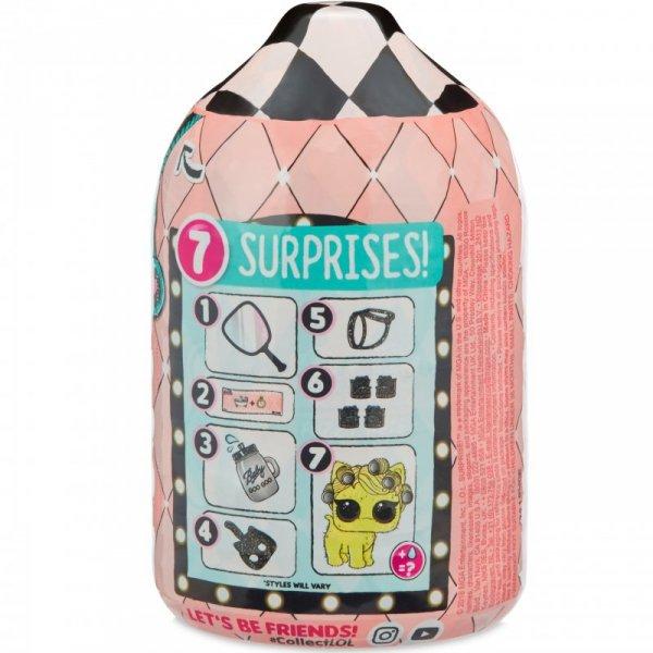 L.O.L. Surprise Zwierzątko LOL z futerkiem Fuzzy Pets Makeover + Magnes na lodówkę OMG gratis!