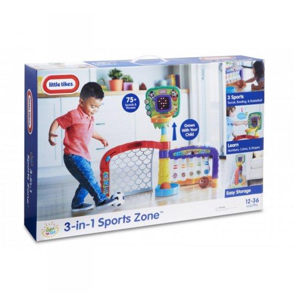 Little Tikes Interaktywne Centrum Sportowe 3w1