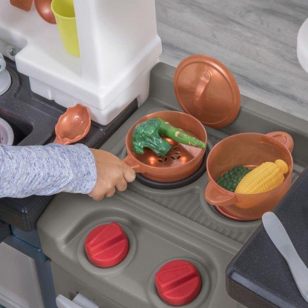 Step2 Duża Kuchnia Dla Dzieci Modern Metro 33 Akc.