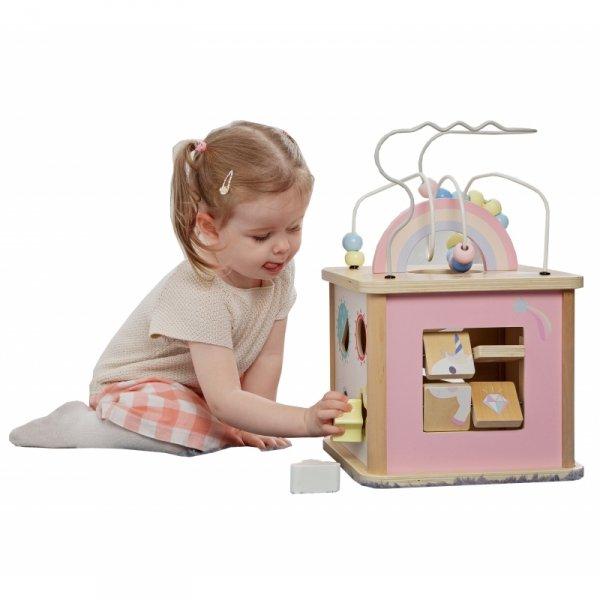 Sześcian Aktywności Wielofunkcyjna Zabawka Jednorożec Classic World