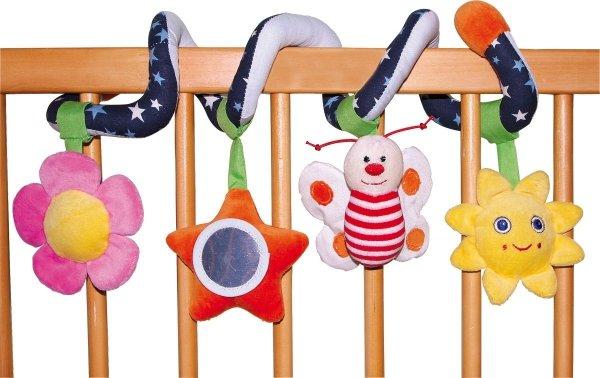 SMALL FOOT Baby Toy Grasp Spiral - Chwytak-spirala na łóżeczko