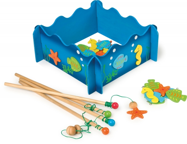 SMALL FOOT Łowienie Rybek - zabawka dla dzieci