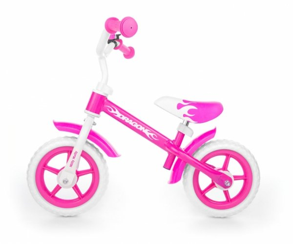 Rowerek Biegowy Dragon pink