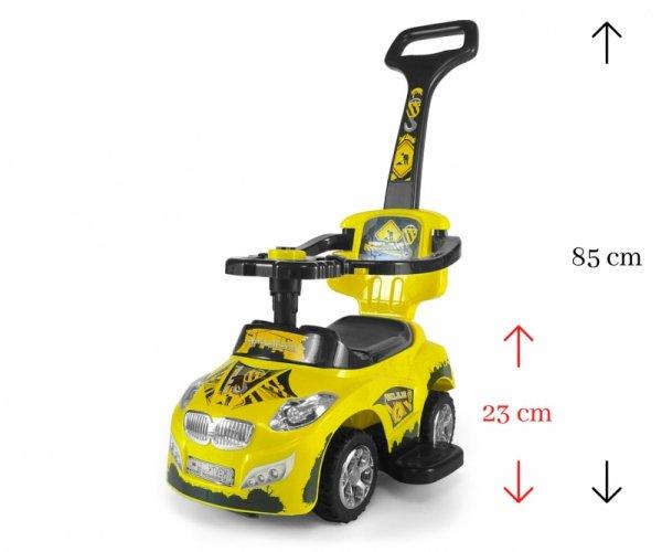 Pojazd Happy Yellow