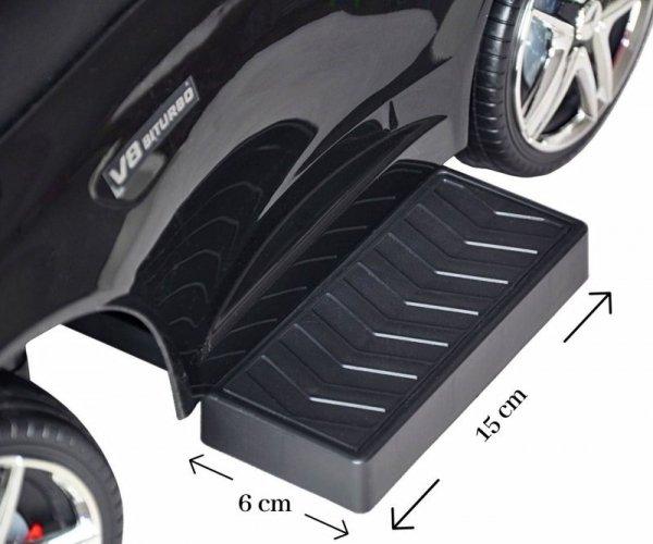 Pojazd z rączką MERCEDES-AMG C63 Coupe Black