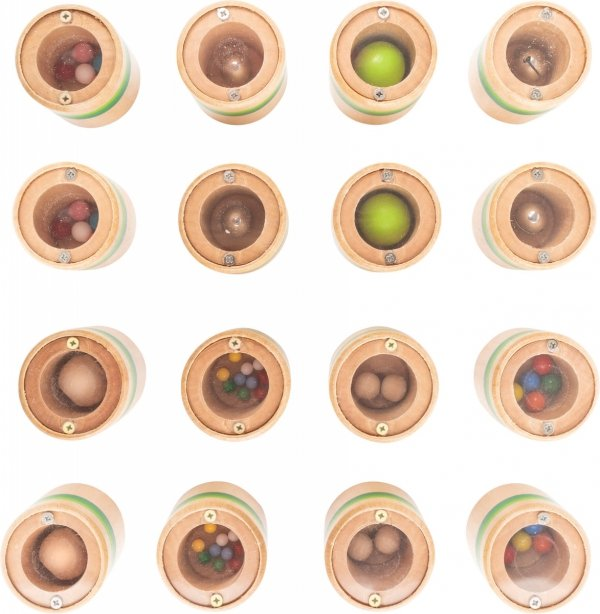 SMALL FOOT The Very Hungry Caterpillar Listening Memo - Memo Dźwiękowe - gra sensoryczna (Bardzo Głodna Gąsienica)