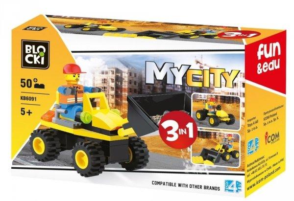 Klocki Blocki MyCity 3w1 - 50 el.