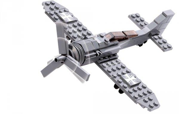 Klocki Blocki MyArmy Samolot 87 el.