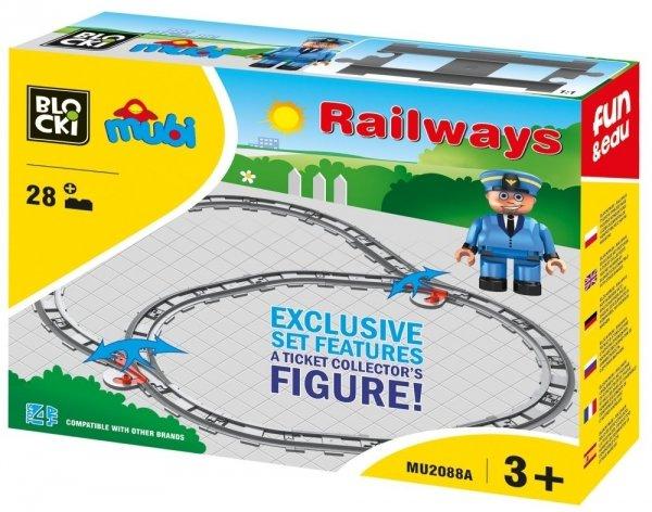 Klocki Blocki Mubi Railways 26 el.