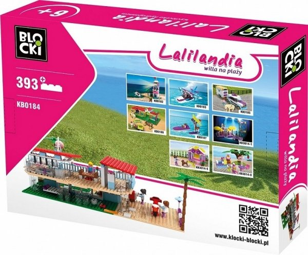 Klocki Blocki Lalilandia Willa na Plaży 393 el.