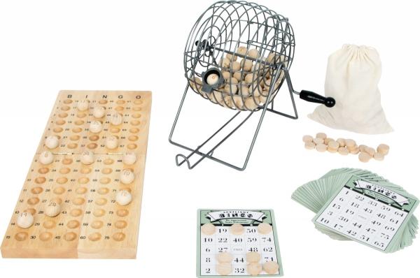 SMALL FOOT Bingo z Maszyną Losującą